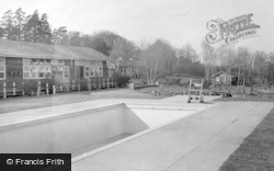Colemans Hatch, Wren's Warren Camp From The Swimming Pool c.1955