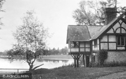 Colemere, The Boathouse c.1935