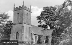 St James' Church c.1955, Colesbourne