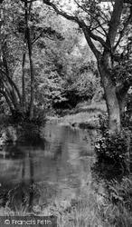 The River Churn c.1960, Colesbourne