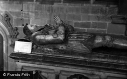 Coleshill, Church, Tomb Of 'john Diggeby Of Coleshill' 1958
