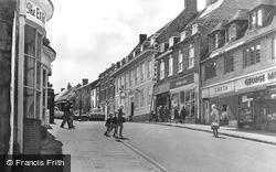 Coleshill, High Street c.1960