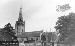 Coleshill, Parish Church c.1960