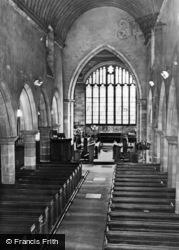 Coleshill, Parish Church Interior c.1960