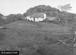 Coll, Bousd, Glaic Cottage 1957