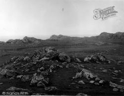 Coll, Cliffs Near Clathach c.1955