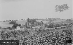 Collaton St Mary, General View c.1960, Collaton