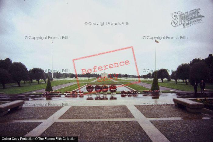 Photo of Colleville Sur Mer, St Laurent American Cemetery 1984