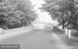 Collingham, Approaching The Village 1958