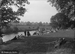 Collingham, By The River c.1933