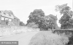 Collingham, Church Lane 1957