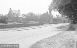 Collingham, Main Road 1957