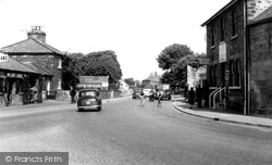 Collingham, Post Office Corner 1958