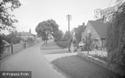 Collingham, School Lane 1969