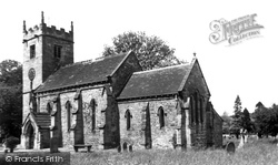 Collingham, St Oswald's Church 1957