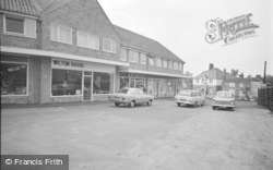 Collingham, The Shopping Centre 1969