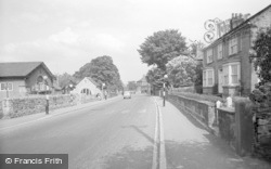 Collingham, The Village 1958