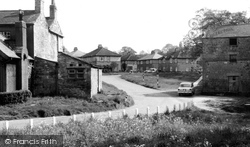 Collingham, Village Green 1958