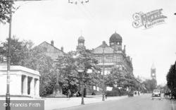 Colne, Albert Road c.1939