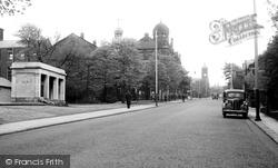 Colne, Albert Road c.1955