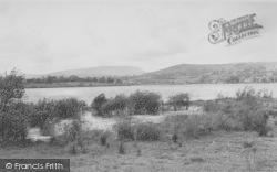 Colne, Lake Burwain And Pendle Hill c.1955