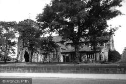 Colne, St Bartholomew's Church c.1955