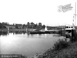 Colne, The Sailing Club c.1960