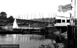 Colne, The Sailing Club House c.1960
