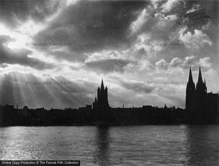 Photo of Cologne, Evening c.1930