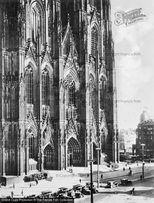 Photo of Cologne, Main Door Of Cathedral c.1930