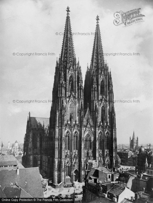 Photo of Cologne, The Cathedral c.1900