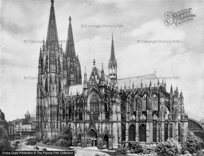 Photo of Cologne, The Cathedral, South Side c.1930