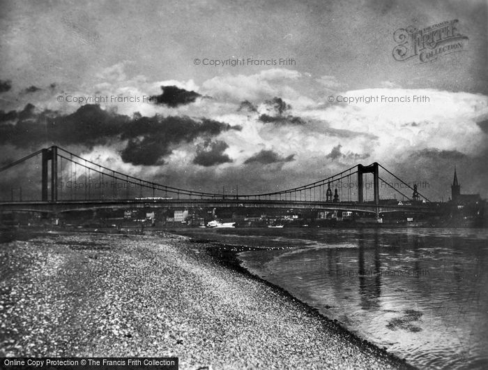 Photo of Cologne, The Muhlheimer Brucke c.1930