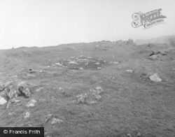 Colonsay, Dùn Uragaig, 2nd Hut East Of Entrance 1955