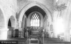 Church Interior c.1960, Colsterworth