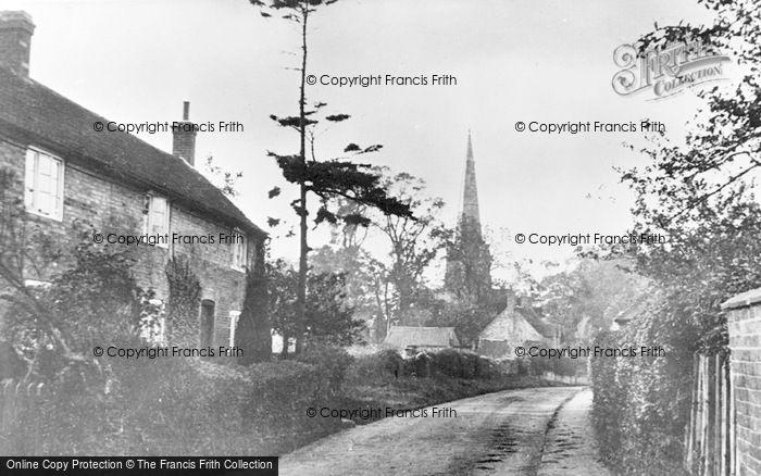 Photo of Colston Bassett, Church Lane c.1950