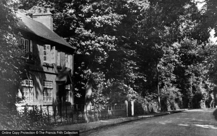Photo of Colston Bassett, Hall Lane c.1950