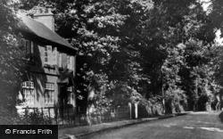 Hall Lane c.1950, Colston Bassett