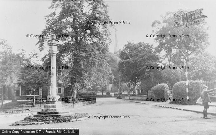 Photo of Colston Bassett, The Market Cross c.1950