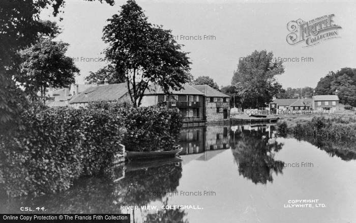 Photo of Coltishall, A River View c.1930
