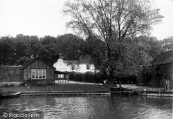 Anchor Hotel From The River Bure c.1930, Coltishall