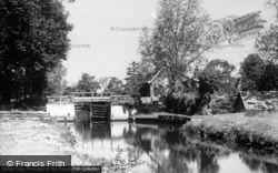 Lock c.1910, Coltishall