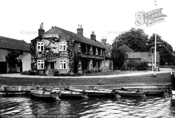 Photo of Coltishall, Rising Sun From The River Bure c.1930