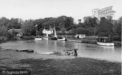 Coltishall, River Bure 1950