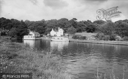 Coltishall, The Anchor And The River Bure c.1965