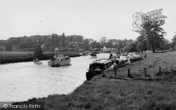 Coltishall, The Common And River Bure c.1965