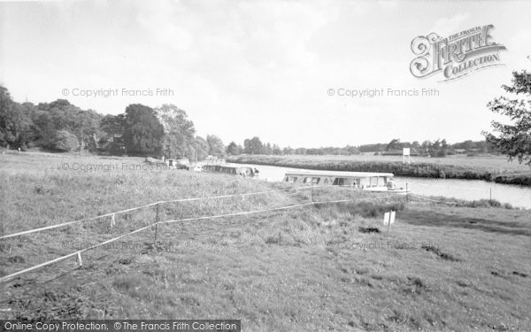 Photo of Coltishall, The Common And River c.1965