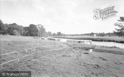 Coltishall, The Common And River c.1965