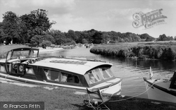 Coltishall, The Common And The River Bure c.1965