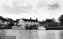 Coltishall, The Rising Sun From The River Bure c.1960